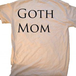 Be a Goth Mom at GnarlyGrunge Tees.com