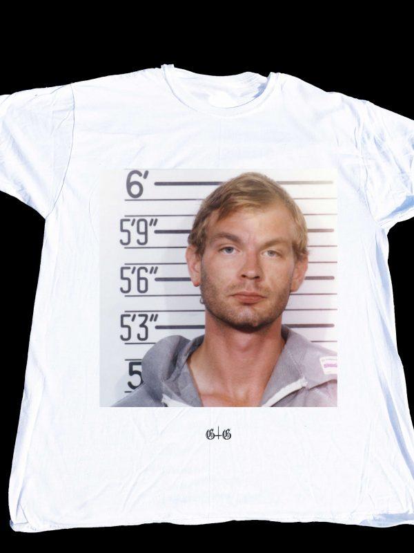 Jeffrey Dahmer T-shirt at Gnarly Grunge Tees