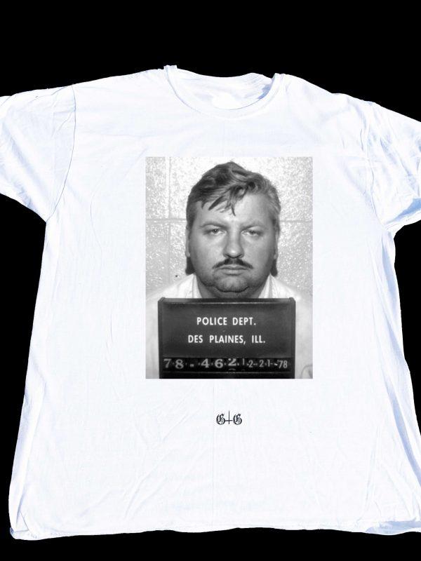 John Wayne Gacy T-shirt at Gnarly Grunge Tees